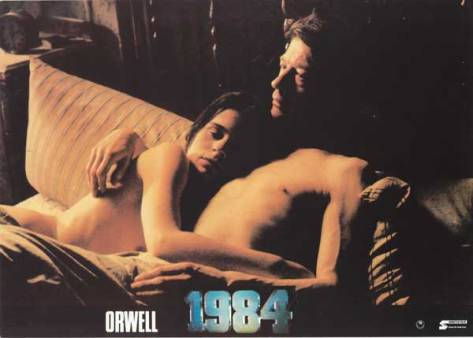 1984 lovers in bed