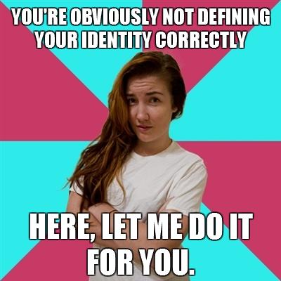 identity redefine