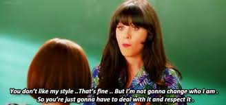 "Zooey Deschanel in New Girl ""I'm not gonna change who I am"""