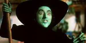 "Wicked Witch of the West from ""The Wizard of Oz"" (1939)"