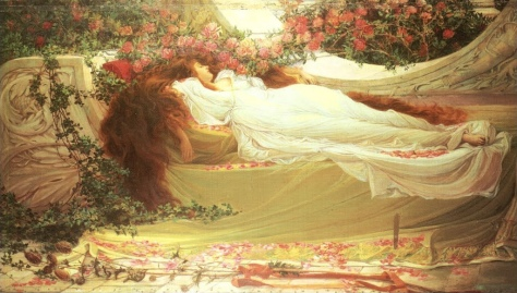 """Sleeping Beauty"" by Thomas Ralph Spence...e.g. the thing I hope to be doing to some extent during this hiatus."